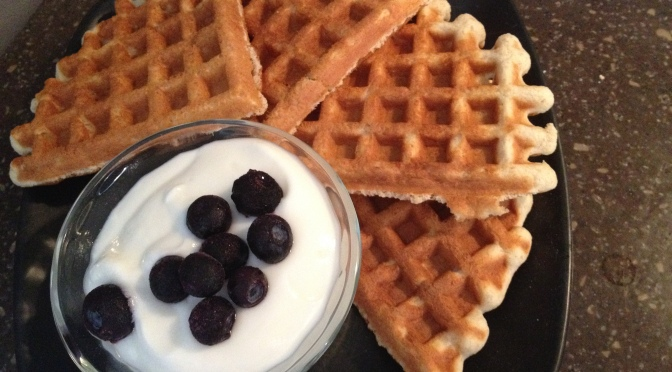 Gluten Free, Low Fat, Protein Packed Waffles